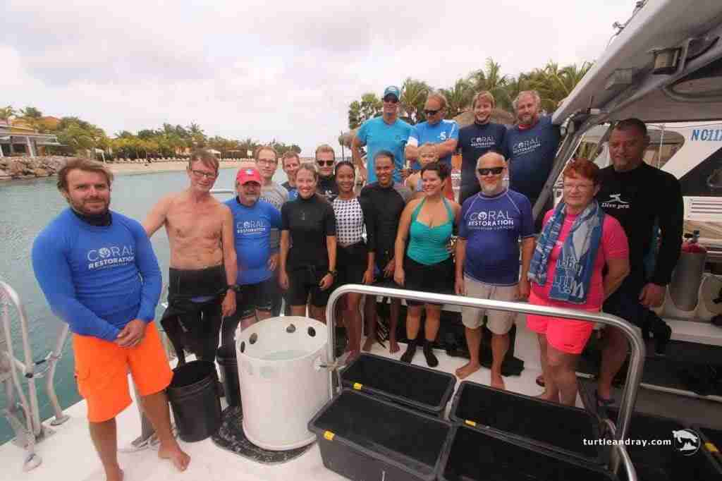 Coral Restoration Foundation Curaçao Branches Out | Dive Curacao