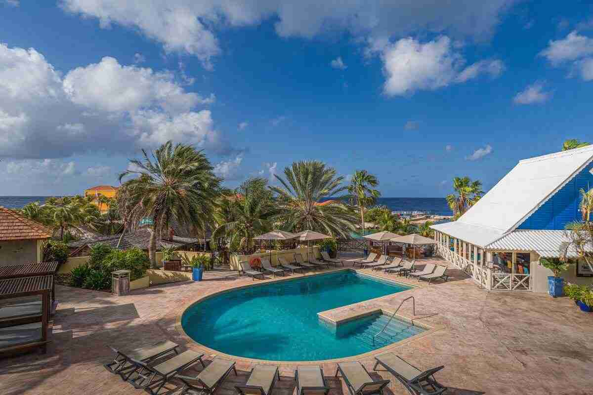 Ocean View Room - LionsDive Beach Resort Curacao | Dive Travel Curacao