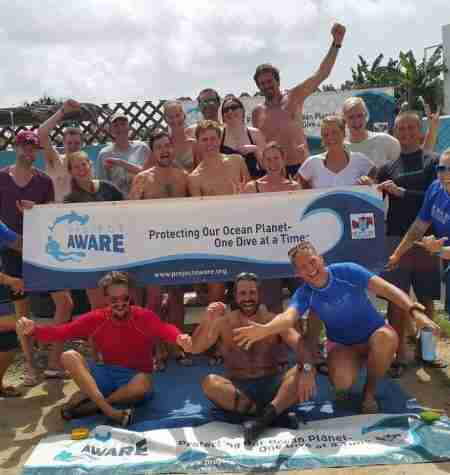 Dive Against Debris Curacao | Project AWARE | Dive Curaçao