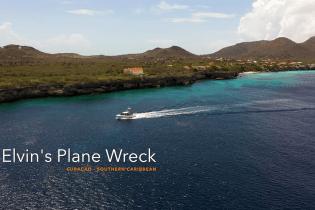Elvins Plane Wreck in Westpunt, Curacao | Dive Travel Curacao