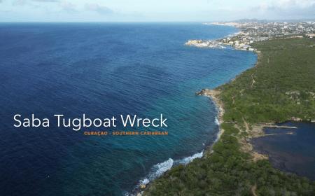 Saba Tugboat Wreck at Jan Thiel Curacao | Dive Travel Curacao