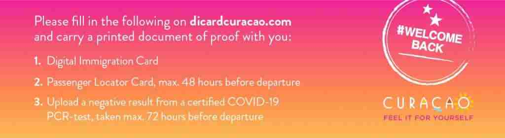 Curacao Digital Immigration Card | Dive Travel Curacao