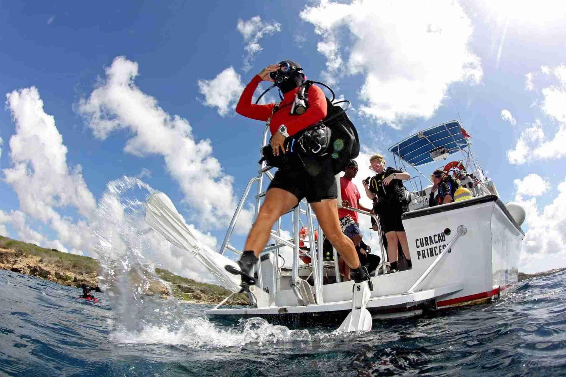 Ocean Encounters Diving Curacao | Boat Diving | Dive Travel Curacao
